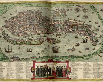 Poster, Many Sizes Available; Map Of Venice Italy 1612