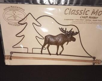 Classic motifs craft hanger... Christmas craft hanger. Raindeer bliss.