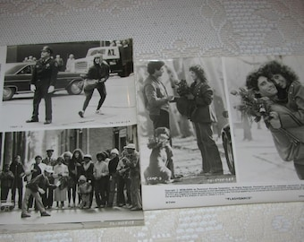 Flashdance 1983 Promo Picts Jennifer Beals Pitbull Dog Grunt and Michael Nouri Paramount Pictures 2 8x10s Free USA Shipping and Tracking