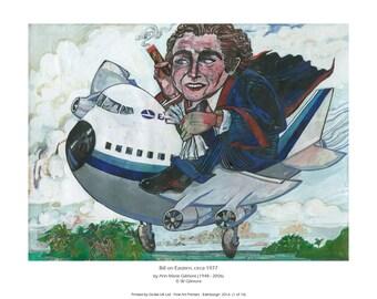 Giclee print of 'Bill on Eastern'