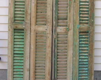 Salvaged shutters Etsy