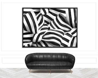 Chic Feminine Art Print | Modern Abstract Print | Chic Minimalist Art Print | Modern Monochrome Art Print | Stylish monochrome art print