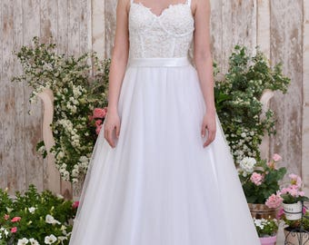 Romantic wedding dress vintage wedding dress