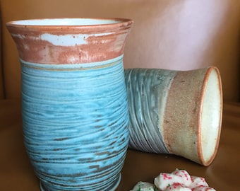 Ceramic tumbler, tumbler, stoneware tumbler, ceramic drinkware