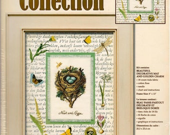 Nature Collection, Nest and Eggs, by Leisure Arts, Counted Cross Stitch Kit