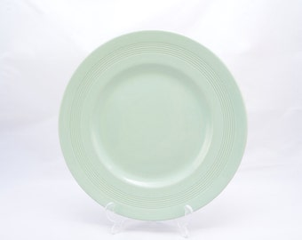 Woods Ware 'Beryl' England, medium plate from the 1950s, pale green