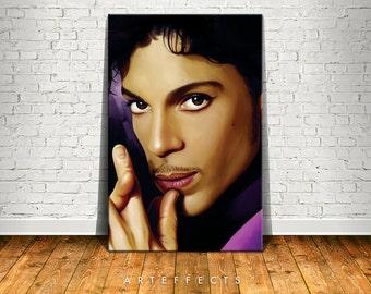 Prince Canvas High Quality Giclee Print Wall Decor Art Poster Artwork