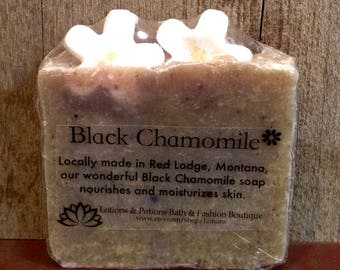 Black Chamomile Soap, Natural Soap, Hand and Body Soap, Lotions and Potions