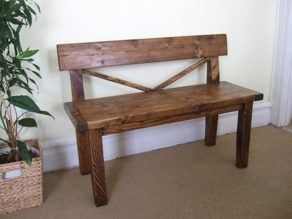 wood sale bench dining back benches for storage o pottery small with wooden barn