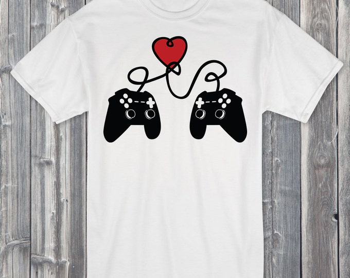 Gamer Valentine's 100% Soft Cotton Gaming Shirt