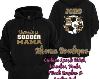 Custom Soccer Shirt, Soccer Mom Shirt, Soccer Mom Shirts, Soccer Mom, Soccer Mama, Soccer Mom Tee, Soccer Mom Tshirt, Soccer Mom