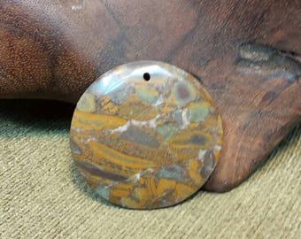 Sale #EarthDay ~ Beautiful Earth Shades in Brown Bamboo Leaf Jasper Round