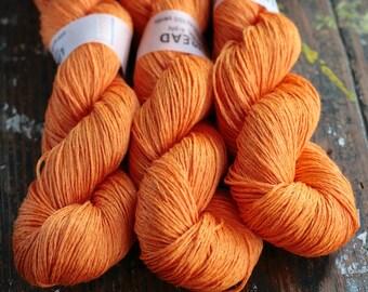 Linen yarn - 4-ply - fingering -- 006