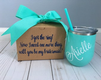 Bridesmaid Proposal Box, Bridesmaid Proposal, Bridal Party Proposal, Proposal for Bridesmaid, Bridesmaid Gift, Bridal Party Gift