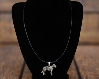 Irish Wolfhound , dog necklace, limited edition, extraordinary gift, ArtDog