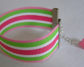 BUY 1 GET 1 HALF OFF - Go Preppy - Adorable Grosgrain Ribbon Bracelet