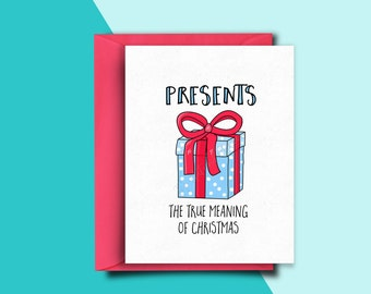 Funny Holiday Card, Funny Christmas Card Set, Cards Christmas, Holiday Cards Pack, Christmas Gift for Friends, Husband, Her, Him, Men, Mum