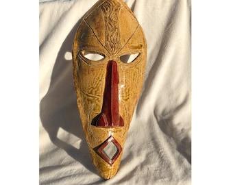 African Tribe: ZULU inspired Ceramic mask