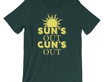 suns out guns out - suns out - workout - work out - guns out tank - suns out tank - workout tank - guns out - workout shirt