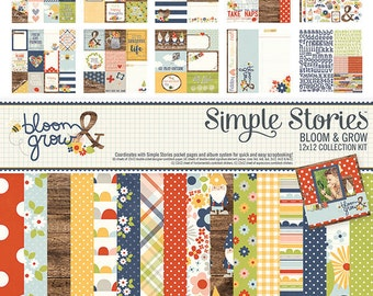 Simple Stories Bloom and Grow Collection Kit