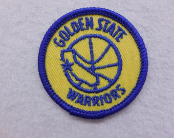 NBA Vintage Golden State Warriors Sew On Patch