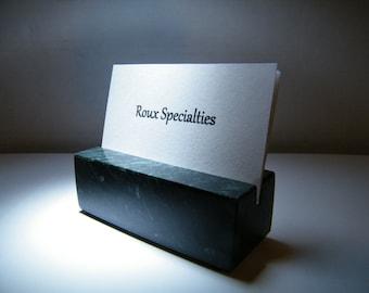 Business Card Holder- Marble Card Holder,Office Desk Marble Card Holder