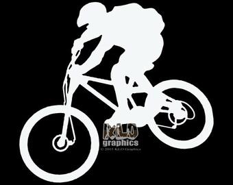 MOUNTAIN BIKE vinyl sticker decal Trail Free Ride Downhill XC