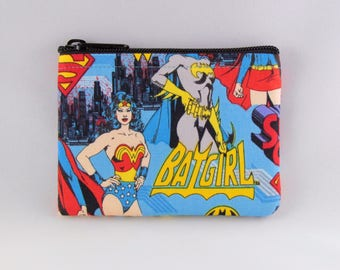 Super Women Coin Purse - Coin Bag - Pouch - Accessory - Gift Card Holder