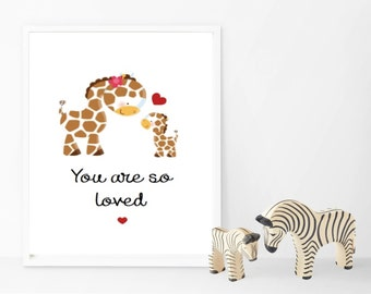 You are so loved - Animals