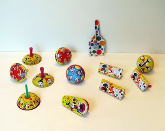NOISEMAKERS! Prepare for Holiday Event Fun, Instant Collection of 12 Vintage, Several Different Shapes and Sounds, Great Condition