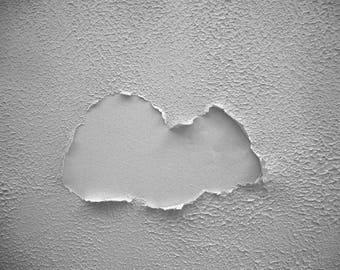 Photography - cloud. Image of art.  Fine arts. Minimalist. Blue Hotel. Miami