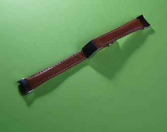 Watches SEIKO 8 14 real leather bracelet