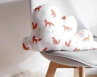 Cloud Cushion Fox