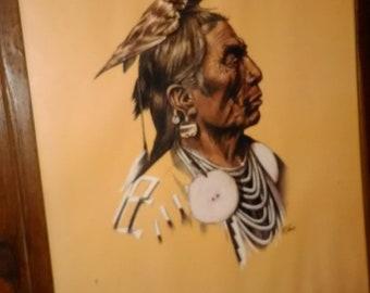 Vintage Native American Indian