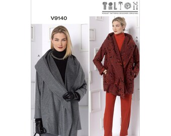 Vogue V9140 Size 4-14 or 16-26 Misses' Jacket and Pants Sewing Pattern / UNCUT Factory Folded