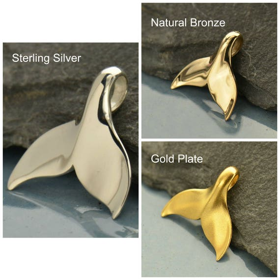 Sterling silver whale tail whale pendant whale tail pendant sterling silver whale tail whale pendant whale tail pendant whale tail charm silver whale tail bronze whale tail gold whale tail from aloadofball Images