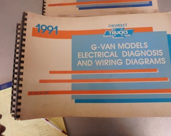 1991 chevrolet electrical diagnosis and diagrams- G-van