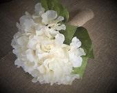 Ivory cream hydrangea wed...