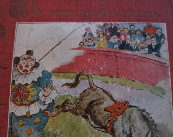 Antique Children's book with great illustrations