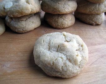 White Chocolate Chip Cookies, 1 1/2 Dozen, Homemade Cookies, White Chocolate, Cookies, White Chocolate Chips