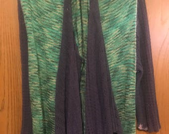 Resale, Eco friendly, Mori girl, Lagen look, Upscale, Silk and Rayon blend Duster, bohemian style , hippie style