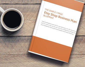 Business plan etsy etsy business plan template make more etsy sales business planner marketing planner business printable etsy shop planner pdf wajeb Gallery