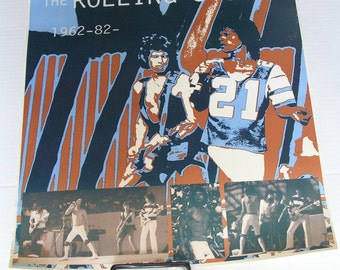 ROLLING STONES Twenty Years of Rockin' PSYCHEDELIC Poster