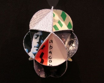 Genesis Band Album Cover Ornament Made Of Record Jackets -  Phil Collins Peter Gabriel