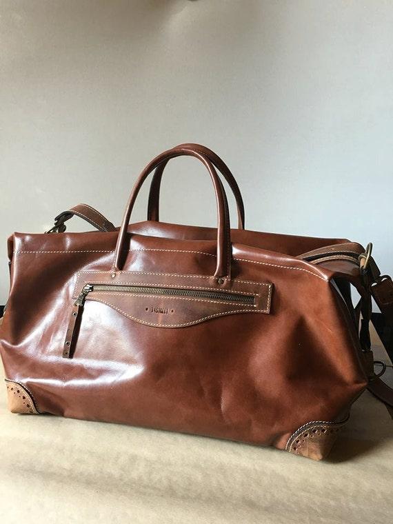 Luxury Sports Bag, Plane Travel Bag, GYM bag, Travel Leather Bag, Overighter Bag, Weekender Bag, Tote Bag. Shoulder Bag,