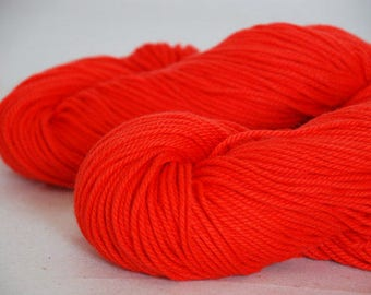 RED ~ ARAN Pure natural Cotton yarn ~ co.no 29