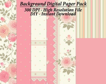 Clipart Digital Paper, Backgrounds, Graphic Backgrounds