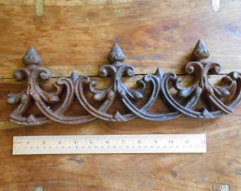 HOLD for BS - Iron Fencing with Acorns Door Handle