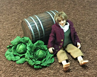 "Dollhouse miniature 1:12 The Hobbit series ""cabbage"""