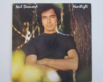 Neil Diamond, Heartlight, Vinyl LP Record Album, 80s Pop Music,